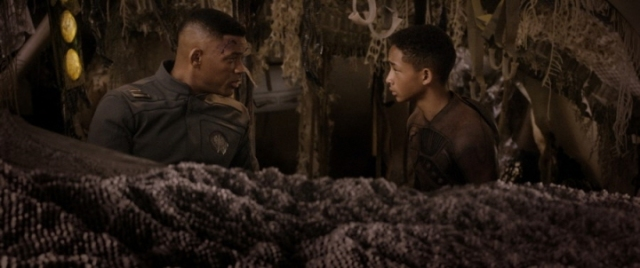 """Will Smith, left, and Jaden Smith star in Columbia Pictures' """"After Earth."""""""