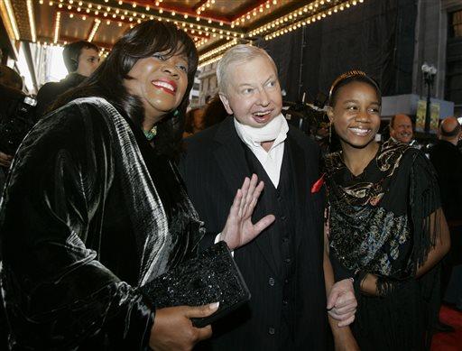 Roger Ebert, Chaz Ebert, Raven Evans