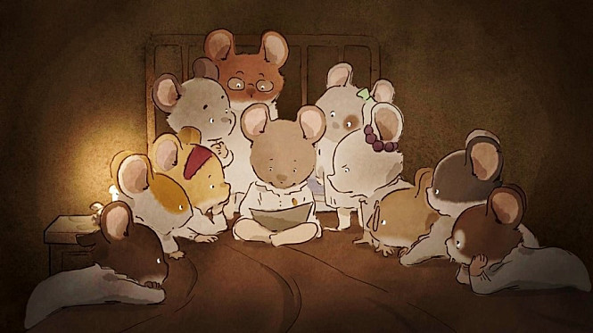 Ernest Celestine 2012 1 2 3 5 4 Of A Mouse And A Bear Seongyong S Private Place