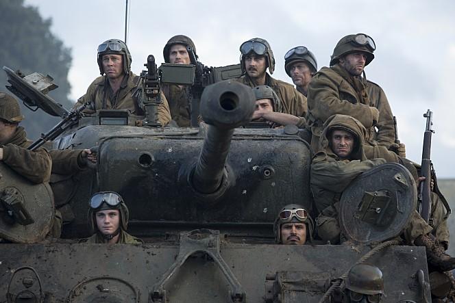 Fury (2014) 1/2(2 5/4) : A gritty, violent World War II
