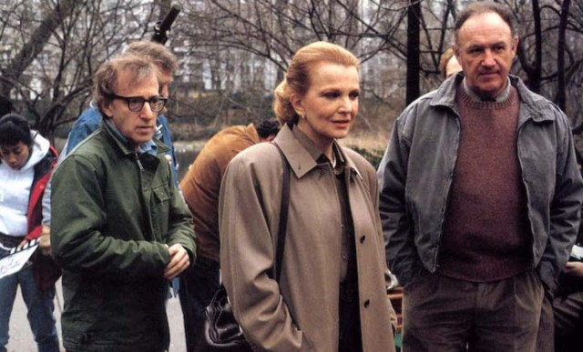 Woody Allen directs Gena Rowlands (Marion Post) and Gene Hackman (Larry Lewis).