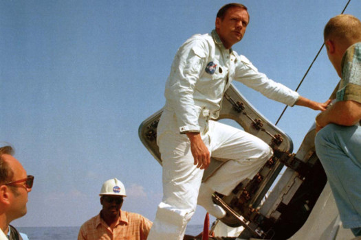 Review: 'Armstrong' examines the man behind the moon landing